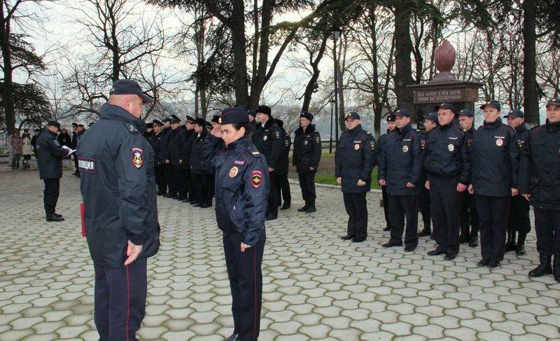 ForPost - Новости : Ряды севастопольской полиции активно пополняются