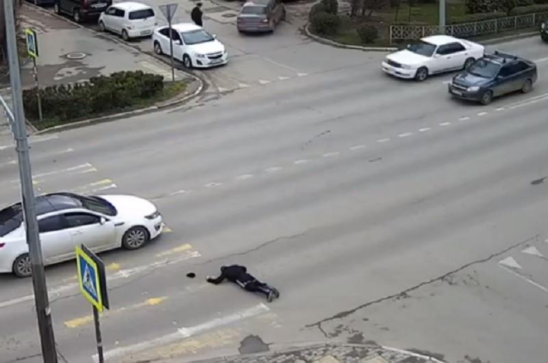 ForPost - Новости : В Севастополе на пешеходном переходе сбили бегуна