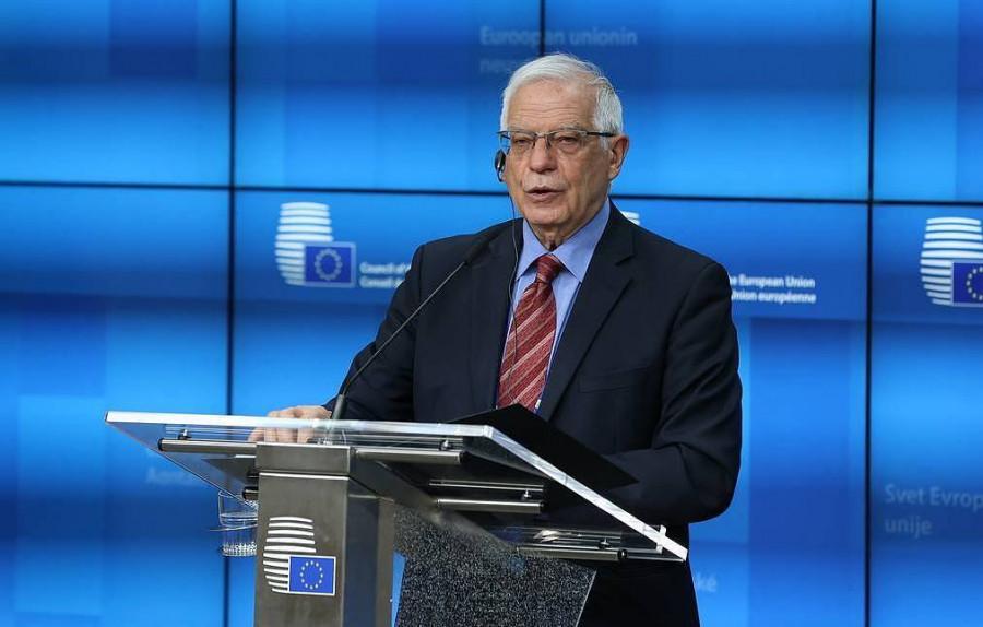"""ForPost - Новости : Боррель заявил, что главы МИД стран ЕС обсудят """"военную активность России вокруг Украины"""""""