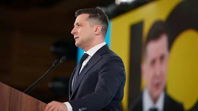 ForPost - Новости : Зеленский назвал вступление в НАТО единственным путем к миру в Донбассе