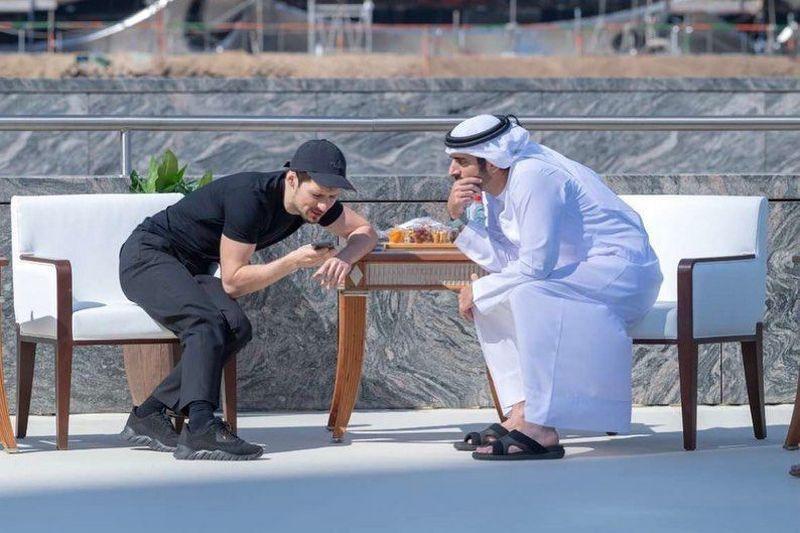 ForPost - Новости : Павел Дуров стал самым богатым миллиардером Дубая