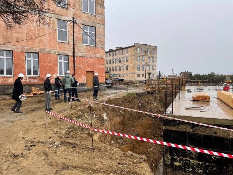 ForPost - Новости : Новую школу на 450 мест начали строить на Северной стороне Севастополя