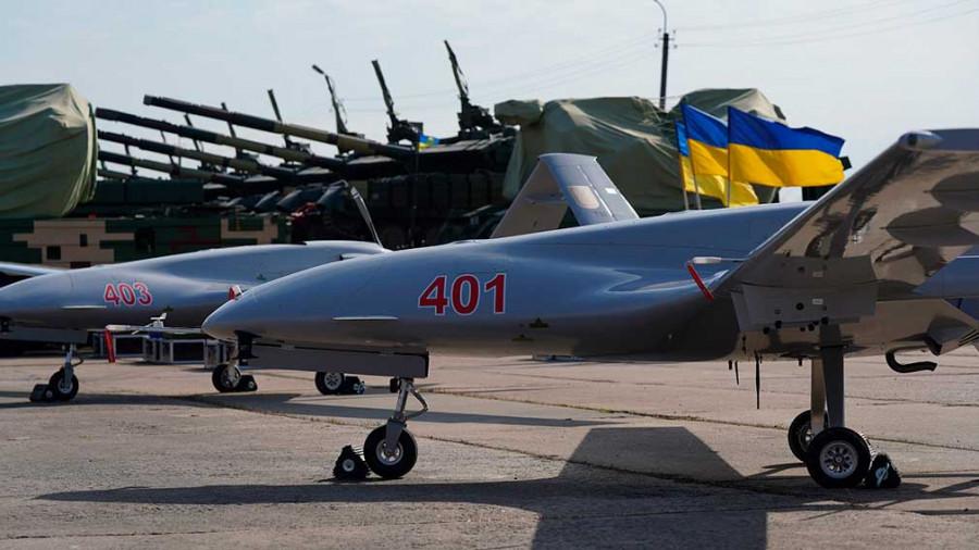 ForPost - Новости : Турецкий беспилотник Bayraktar ВС Украины совершил первый вылет в зону операции в Донбассе
