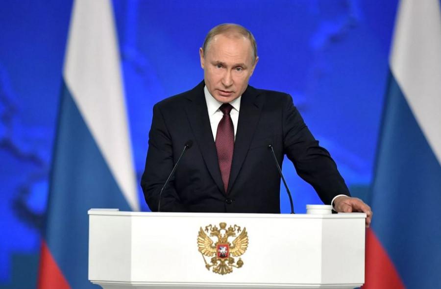 ForPost - Новости : Песков заявил о постковидной повестке послания Путина Федеральному Собранию