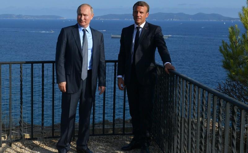 ForPost - Новости : Пашинян назвал Путина президентом Франции