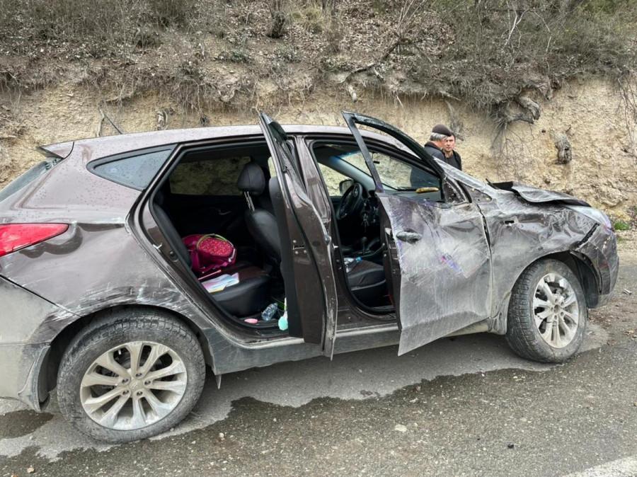 ForPost - Новости : Машина с тремя подростками опрокинулась под Севастополем