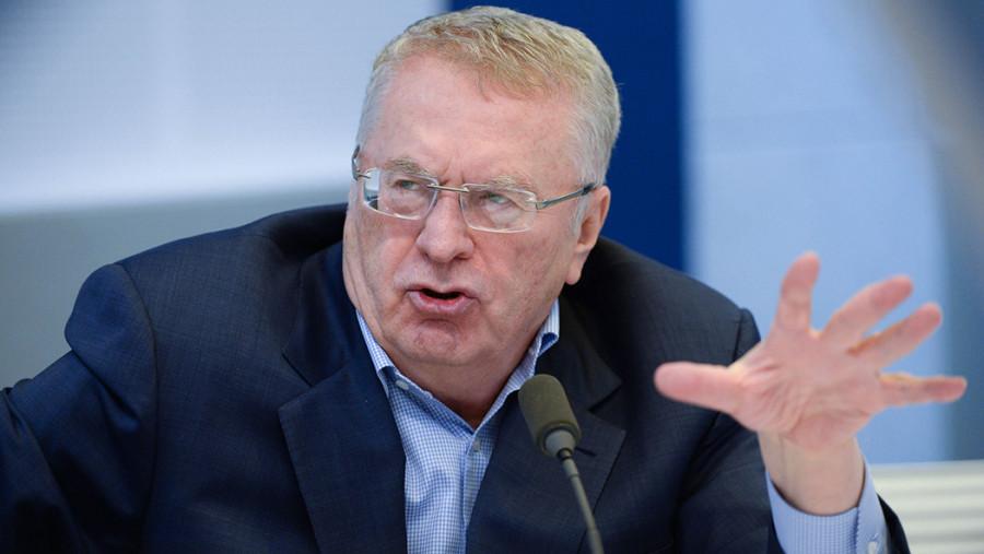 ForPost - Новости : Жириновский предложил перекрыть Днепр дамбой