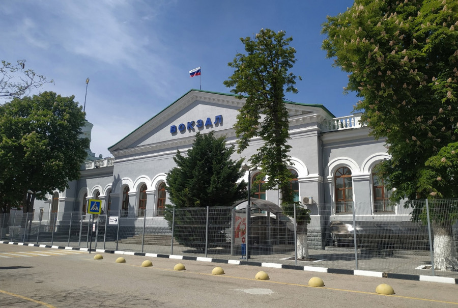 ForPost - Новости : В Севастополе реконструируют железнодорожный вокзал