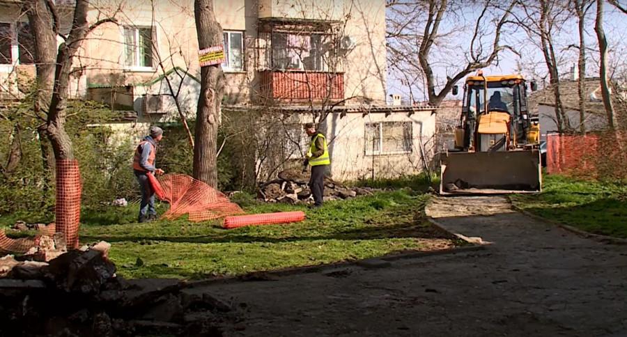 ForPost - Новости : Благоустройство Севастополя добралось до улицы Горпищенко