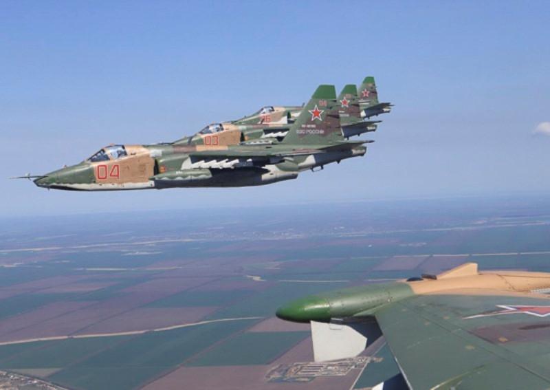Россия перебросила в Крым штурмовики