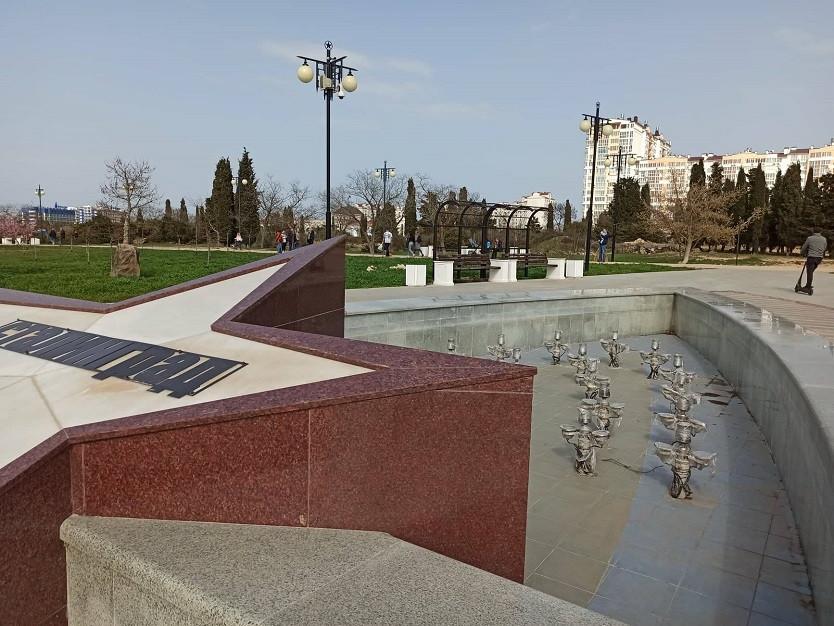 ForPost - Новости : Когда заработают фонтаны в севастопольском Парке Победы