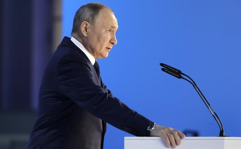 ForPost - Новости : «Крутятся вокруг Шерхана мелкие табаки»: Путин ответил на вызовы коллективного Запада