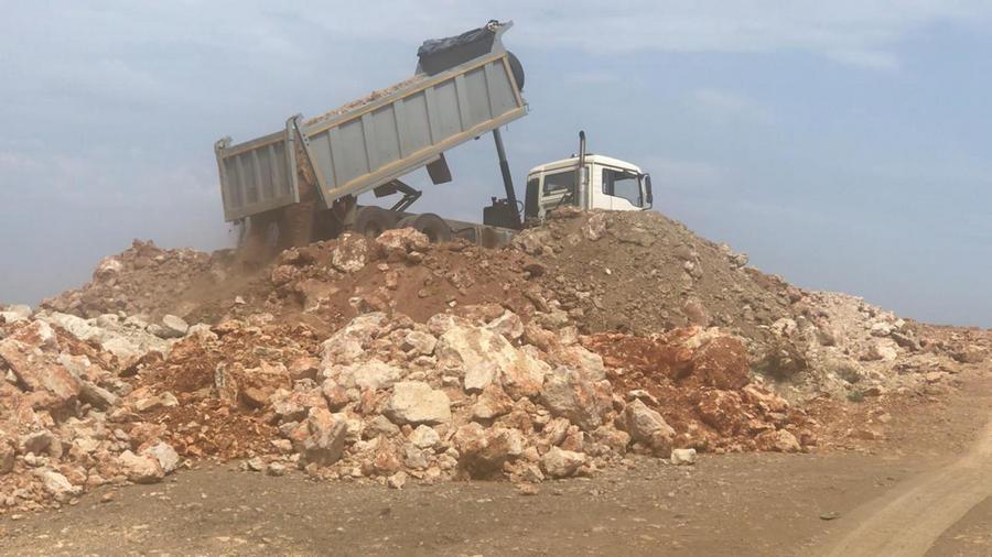 ForPost - Новости : Села Севастополя превращают в полигоны строительного мусора