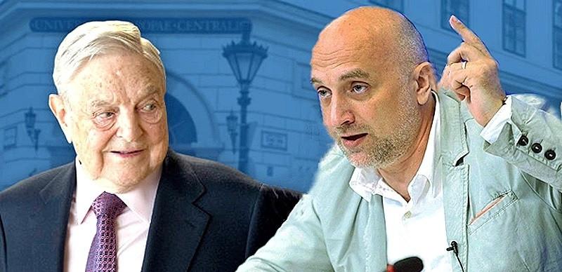 ForPost - Новости : Захар Прилепин предложил приравнять Джорджа Сороса к ИГИЛ*