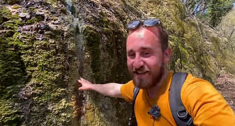 ForPost - Новости : Турист нашел в Крымских горах термальный источник