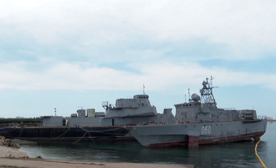 ForPost - Новости : Жители Севастополя требуют остановить «грязную» утилизацию флота