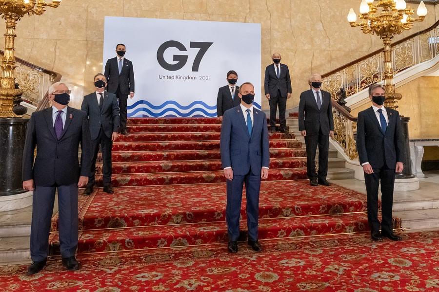 ForPost - Новости : На встрече «Большой семёрки» зарубежные министры дольше всего обсуждали Россию