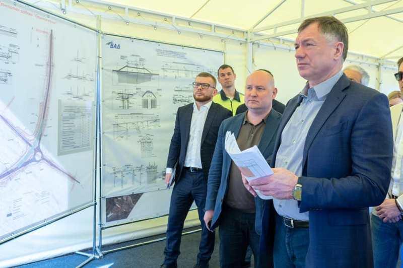 ForPost - Новости : Хуснуллин назвал сроки завершения строительства съездов с «Тавриды»