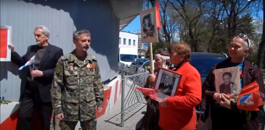 ForPost - Новости : В Севастополе «Бессмертный полк» отметил 9 Мая у стен культурного кластера