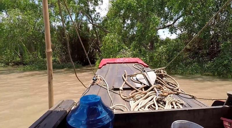ForPost - Новости : Севастопольцы изучают пластиковые «ловушки» на дне Меконга