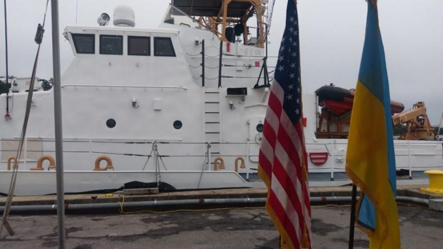 США намерены вскоре передать Украине еще два патрульных катера