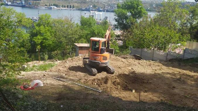 ForPost - Новости : Провалитесь под землю: стройка на карстах Севастополя продолжается