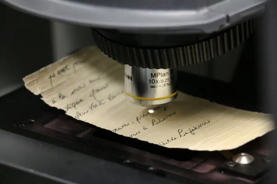 ForPost - Новости : Таинственное письмо в бутылке с «Титаника» поставило в тупик учёных