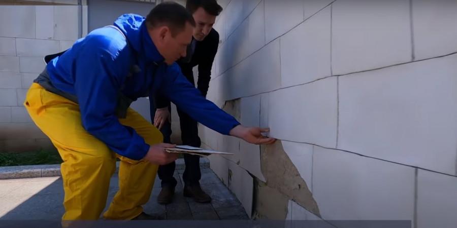 ForPost - Новости : Ремонт у кинотеатра «Победа» в Севастополе был сознательной декорацией