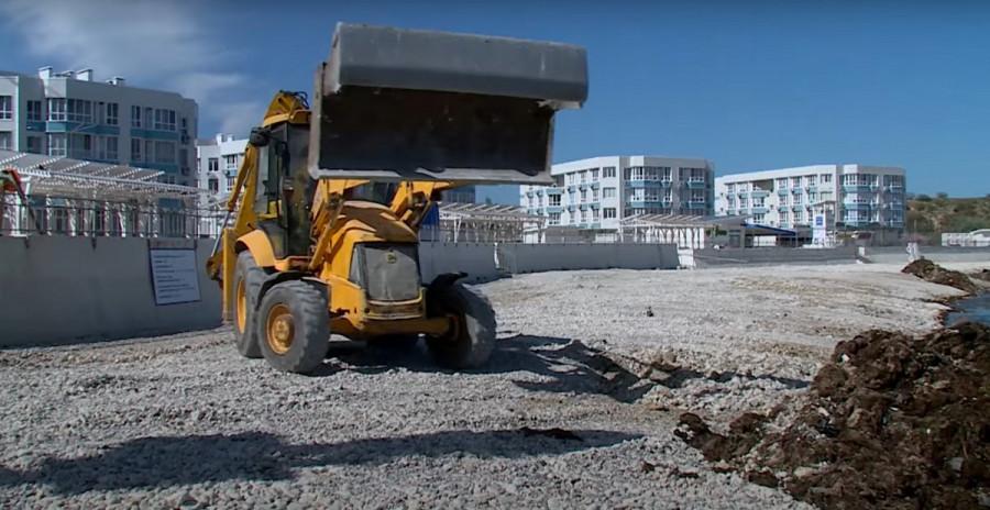 ForPost - Новости : Севастопольские пляжи готовят к сезону