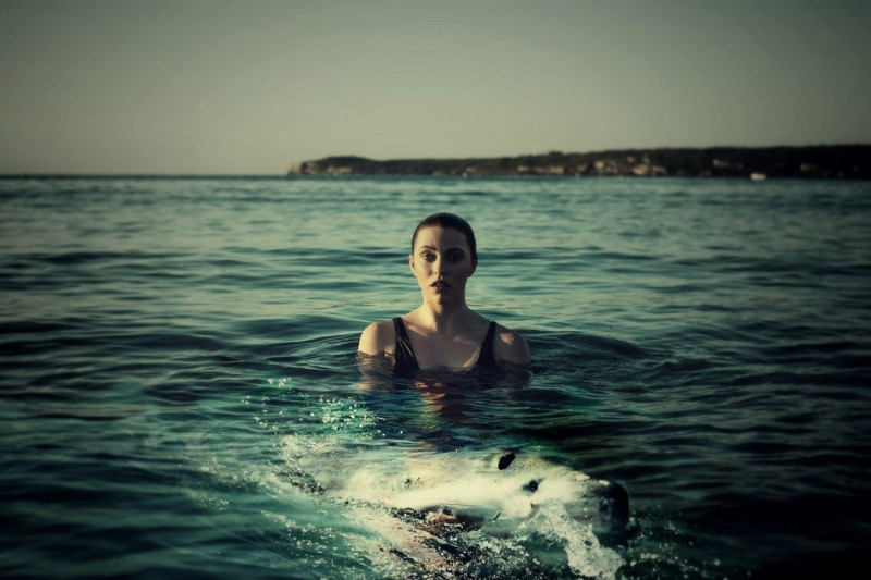 ForPost - Новости : Крымчанин устроил в Черном море фотосессию с ядовитой акулой