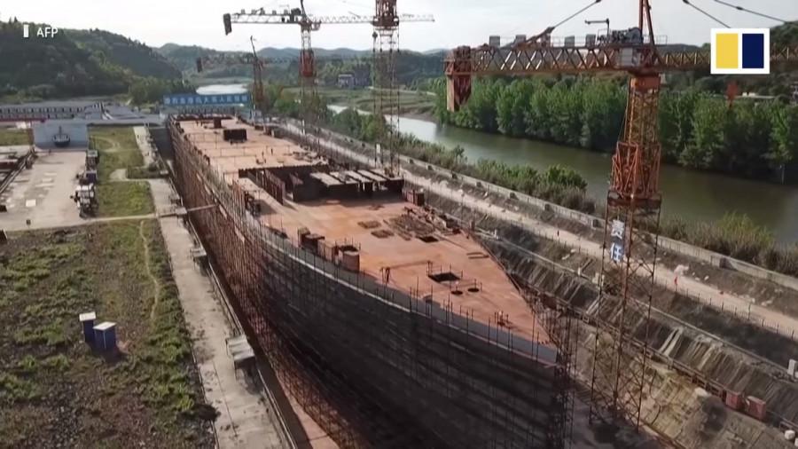 ForPost - Новости : В Китае заканчивают строить копию «Титаника»