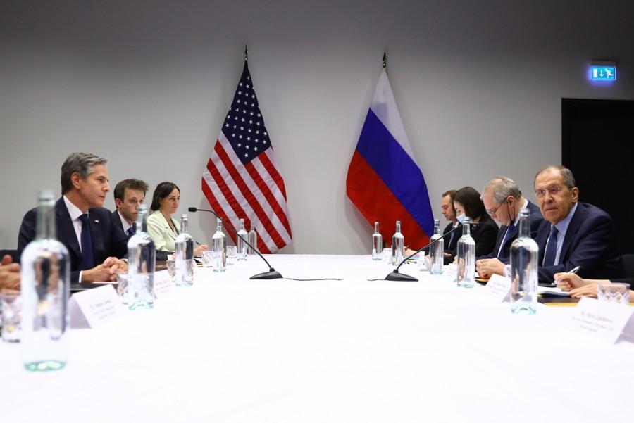 ForPost - Новости : Эксперт оценил первую очную встречу Лаврова и Блинкена