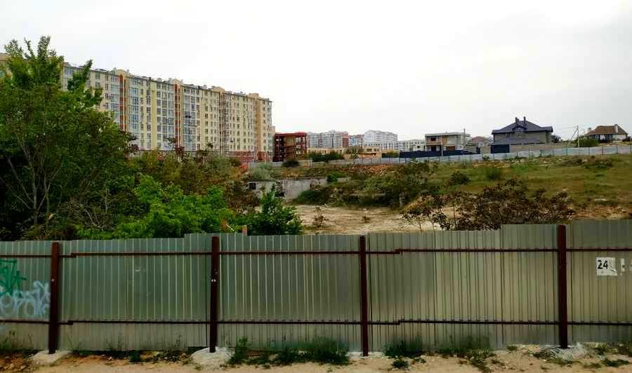 ForPost - Новости : «Фисташковый» застройщик хочет разделить севастопольскую территорию по-братски