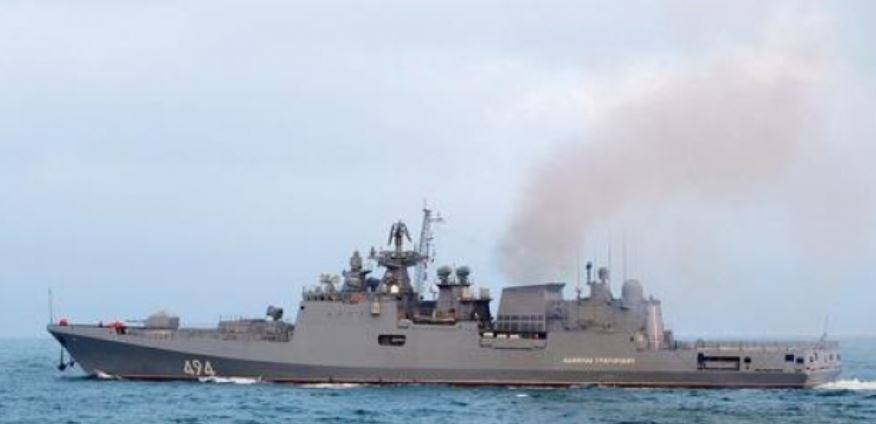 ForPost - Новости : 6 российских боевых кораблей выгнали группу кораблей ВМС США и Японии на их же учениях