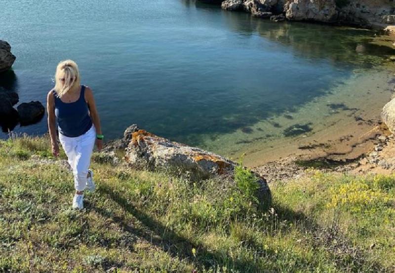 ForPost - Новости : Певица Алена Свиридова показала свою дачу в Крыму