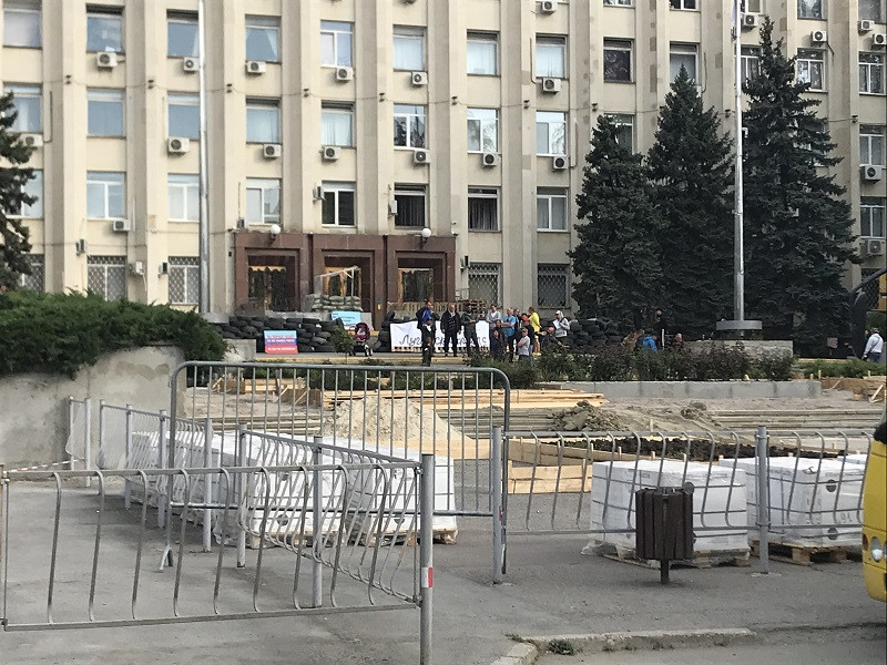 В Крыму взрывали симферопольскую администрацию