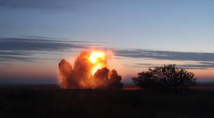 ForPost - Новости : Севастопольские пиротехники под Керчью взорвали четыре с половиной тонны тротила