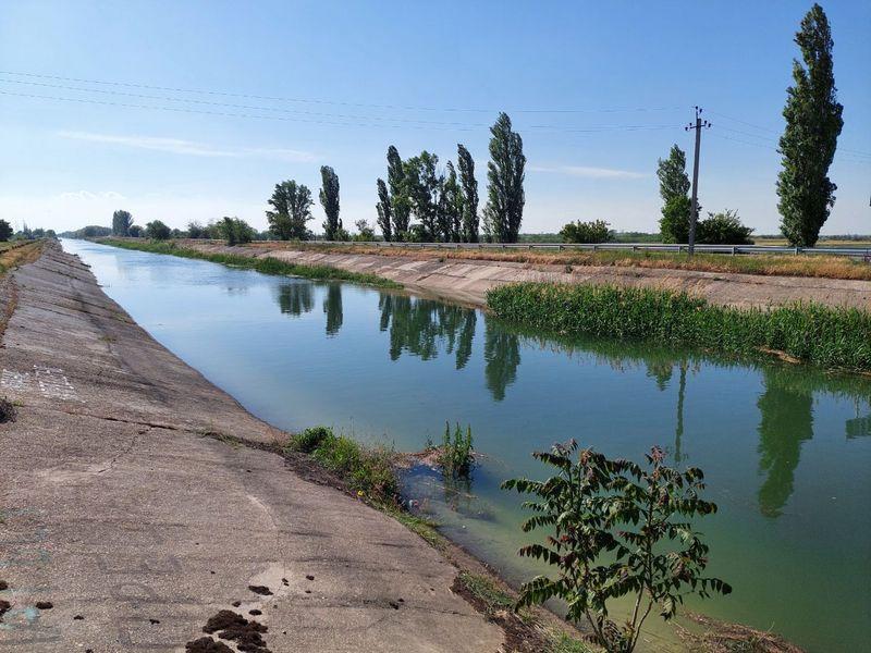 ForPost - Новости : Северо-Крымский канал могут наполнить водой через два года