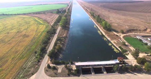 ForPost - Новости : Днепровская вода снова прорывается в Крым