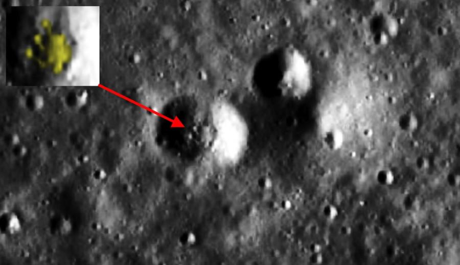 ForPost - Новости : Охотник на инопланетян заявил, что обнаружил космический корабль на Луне