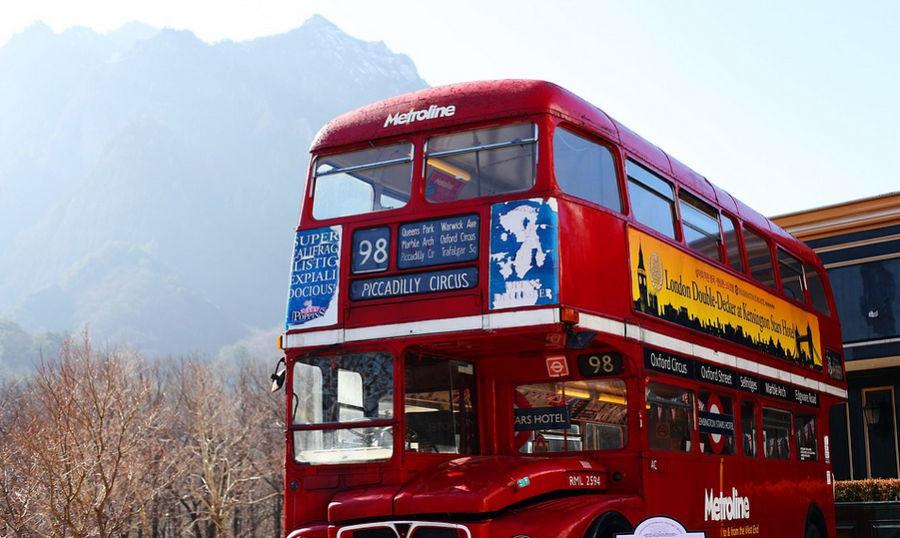 ForPost - Новости : В Севастополе могут появиться двухэтажные голубые автобусы