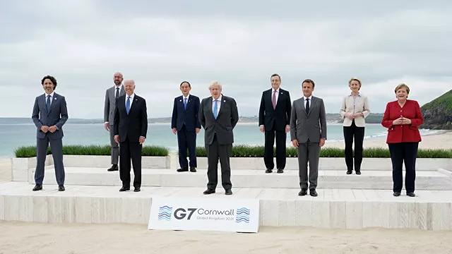 ForPost - Новости : G7 заявила о намерении поддерживать Украину
