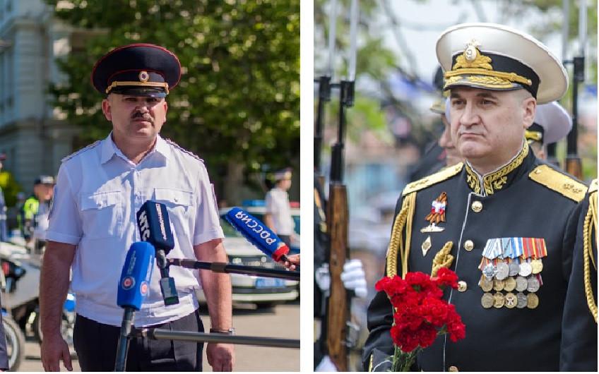 ForPost - Новости : Путин повысил в звании командующего ЧФ и начальника севастопольской полиции