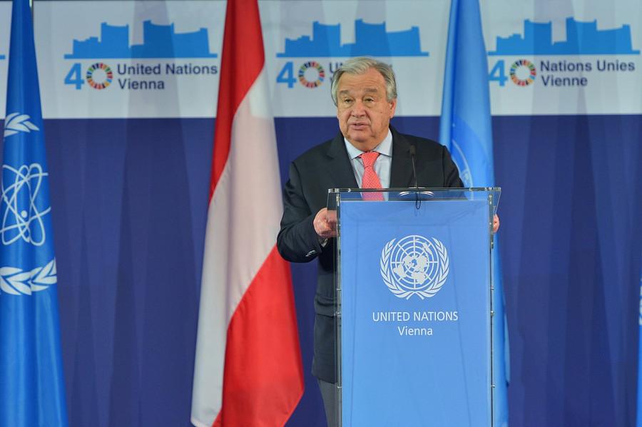 ForPost - Новости : Генсек ООН заявил, что мир находится уже на грани