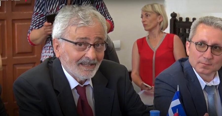 ForPost - Новости : Иоаннис Коацаилидис: Греческий народ «по большей части любит Россию» и готов сотрудничать с Севастополем