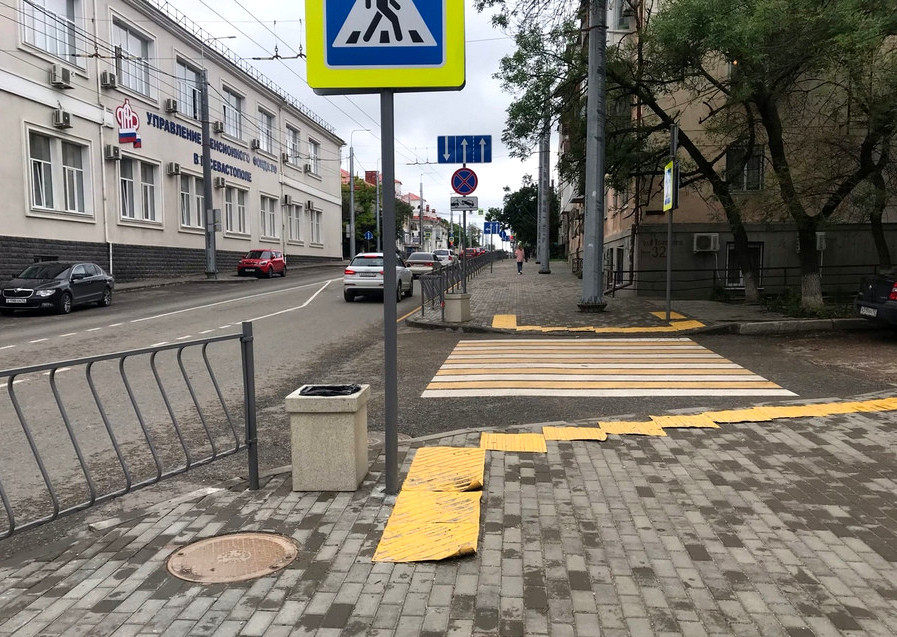 ForPost - Новости : Брак капремонта улицы не даёт вернуть севастопольцам нужный транспорт