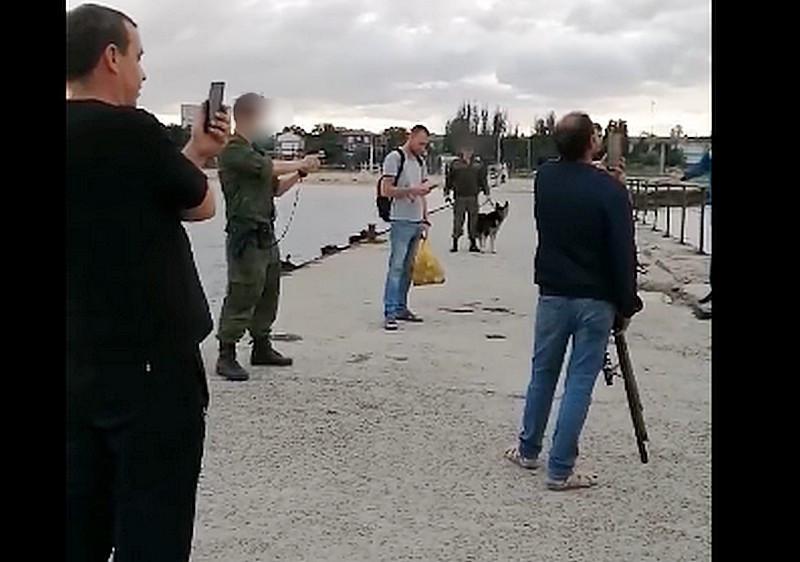 ForPost - Новости : Крымским рыбакам угрожали оружием пограничники