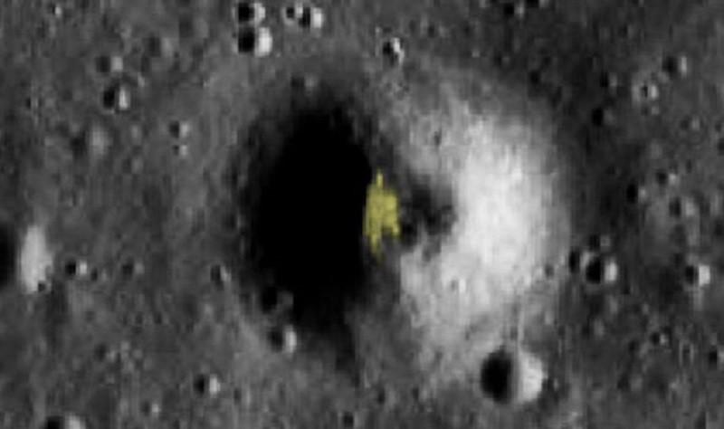 ForPost - Новости : Охотник на НЛО нашёл на Луне базу инопланетян
