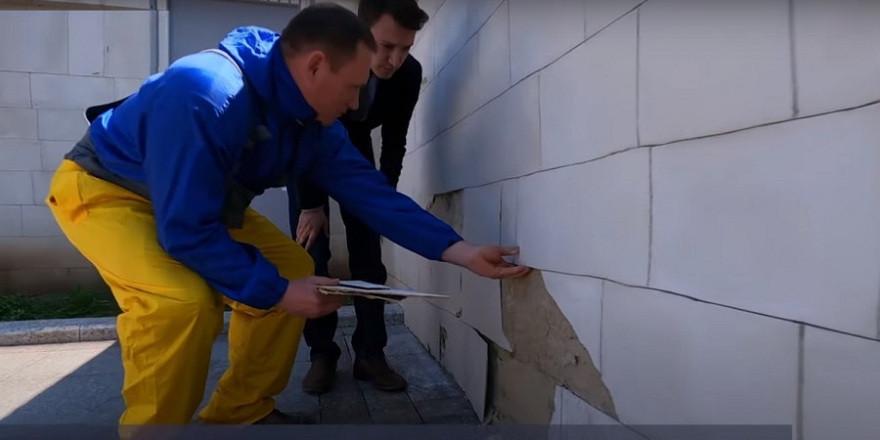 ForPost - Новости : На Большой Морской в Севастополе использовались фальшивые стройматериалы