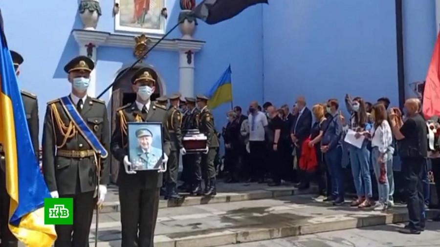 ForPost - Новости : В Киеве президентский полк отправили на похороны участника дивизии СС «Галичина»*